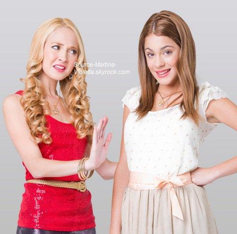 Martina et Mercedes Lambre
