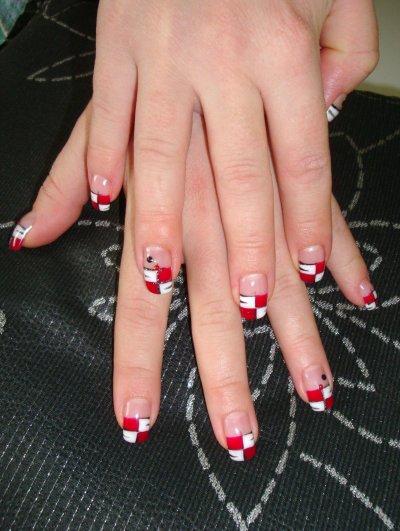 rouge et blanc pour Orthense !!