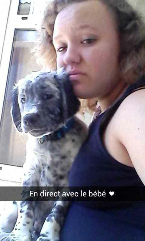 Avec mon chien ♥