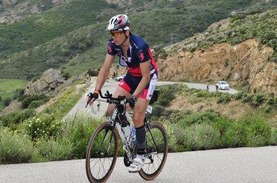 Corsica Tri, Championnat de France Longue Distance, Nat 3150m, Vélo 83km, Cap, 20km