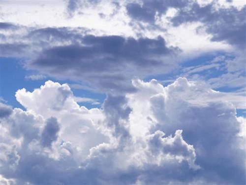 pensée secrete et profonde en regardant le ciel