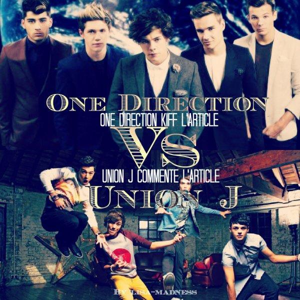 Jeux :One Direction VS Union J !