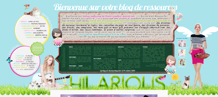 Habillages de blogs les plus stylés