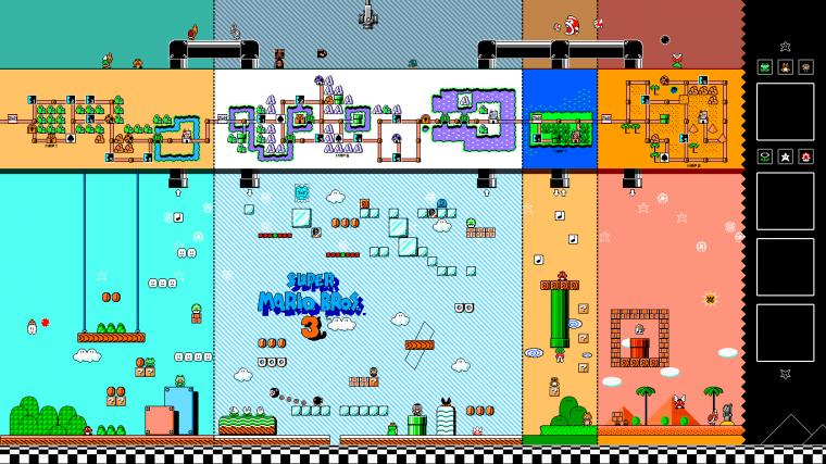 Fond d'écran Mario Bros. 3 (de ma création)