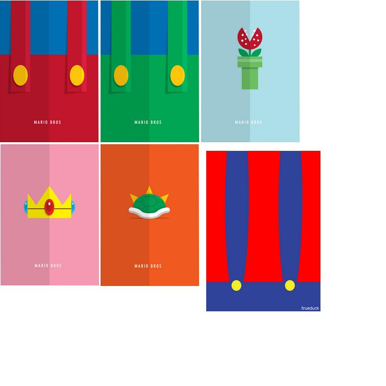 Pack Minimaliste : Mario