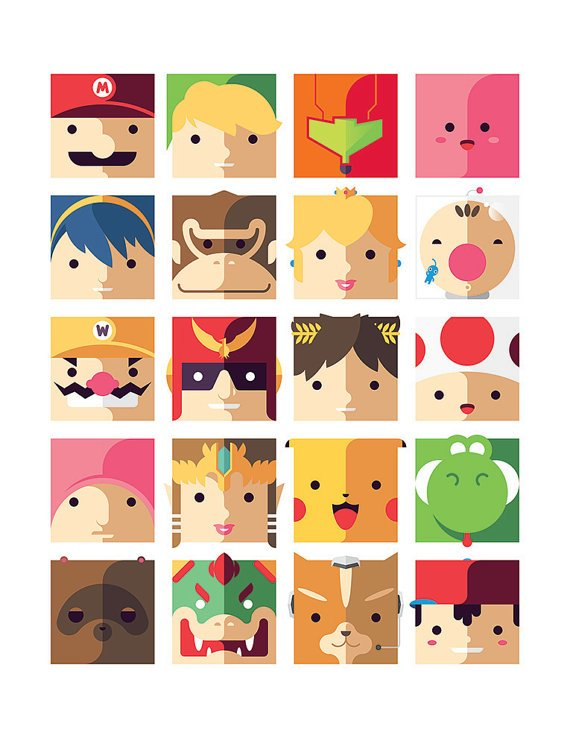 Pack Minimaliste : Nintendo and other