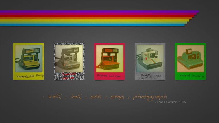 Fond d'écran : Polaroid, les 5 plus beaux (de ma création avec Pépito LK)