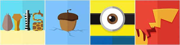 Icon Pop : Disney and Other (images retouchés et améliorés)