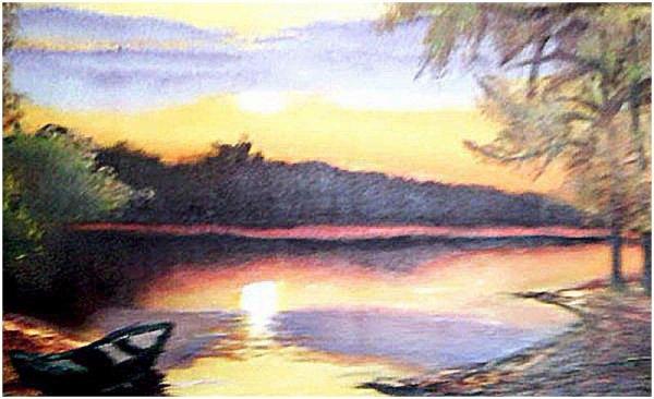 Mes peintures a huile