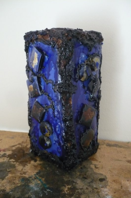 Vase en plastique !!