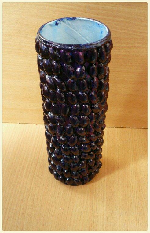 De Pringles a une magnifique  vase !