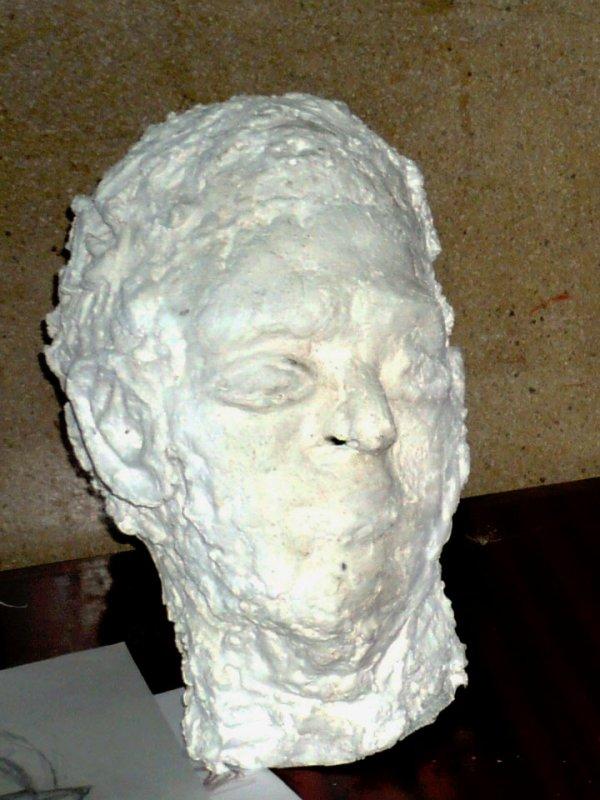 Sculpture avec papier toilette !!