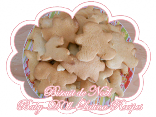 ღ Biscuit de Noël ღ   [ ღ Baby-D0ll-Latina-Recipes ღ ]