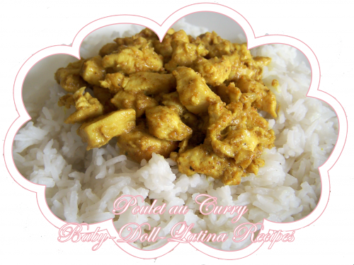 ღ Poulet au Curry ღ   [ ღ Baby-D0ll-Latina-Recipes ღ ]