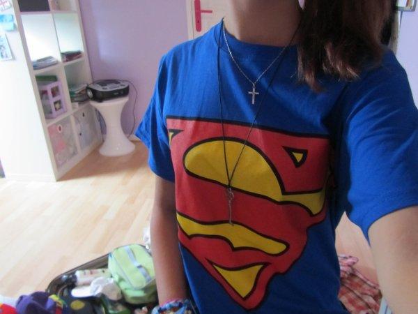 T-shirt Superman venu de New-York