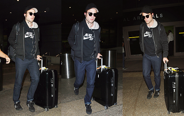 Robert at LAX - August 09