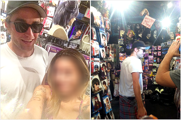 (August 21) New pictures of Rob in NYC