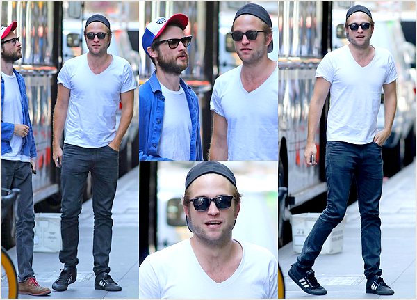 (August 25/27) Rob and Tom out in NYC.