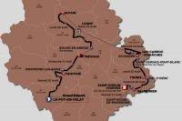 TOUR DE L'AVENIR 2016 (le parcours)