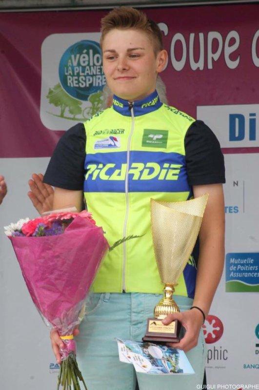 Une Picarde championne de France sur route