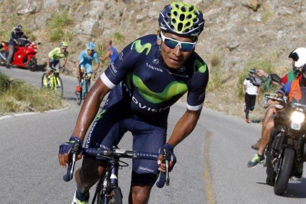 VUELTA 2016 Quintana remporte la dernière étape malgré une chute