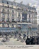 PARIS BREST PARIS  la petite histoire de ses débuts