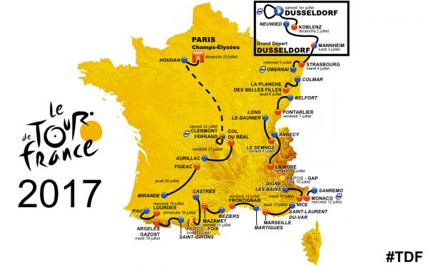 QUELQUES INFOS LE TOUR DE FRANCE 2017