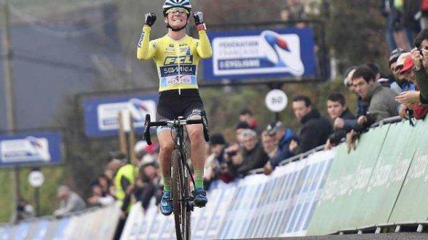 Championnats de France CX Dames - Caroline Mani en pleine forme !!