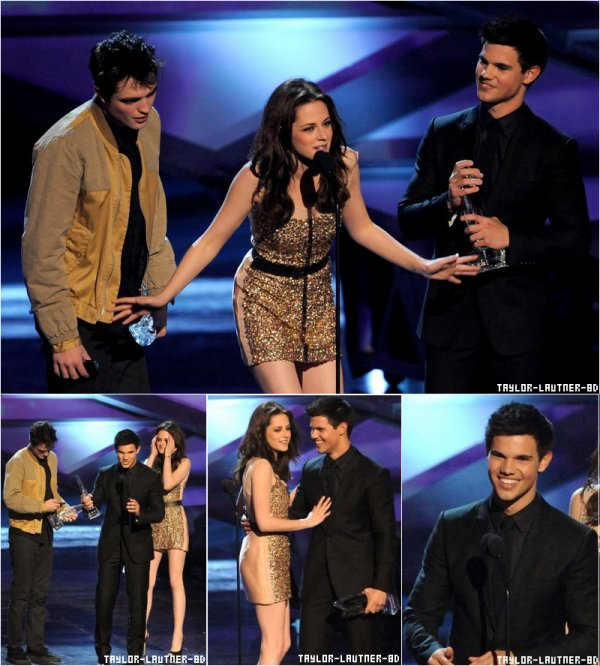 "Taylor, Kristen et Robert  au ""People's Choice Awards 2011"""