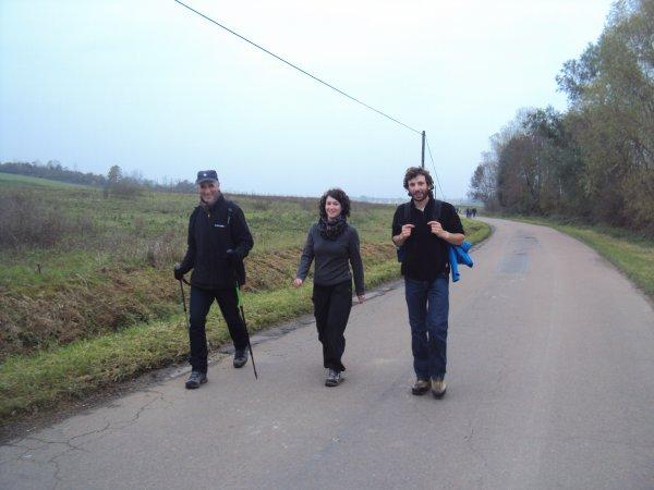 35ème édition du cross de l'Yonne Républicaine: Randonnée au départ de Monéteau