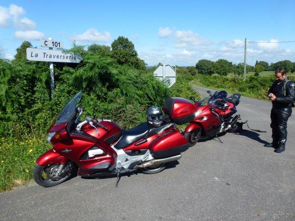 Dernier week-end d'août: Auxerre-Cognac à moto...et retour !