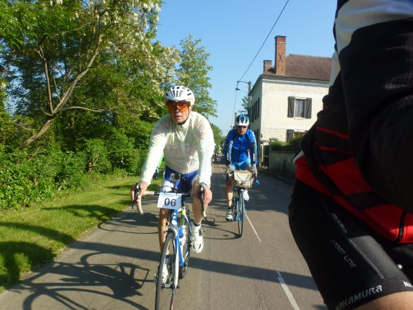 1er Tour de l'Yonne Cyclotouriste  -   Les 23 - 24 -et  25 mai 2015 -  1ère journée