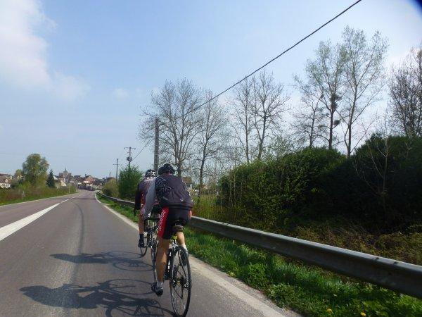Mercredi 5 avril - Sortie Club - 72 km