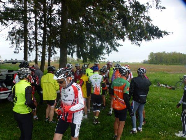 Samedi 15 avril - Sortie Ufolep CTD Cyclo - 85 km