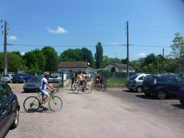 Samedi 27 mai - Sortie Ufolep Gazelec Cyclo - 81 km