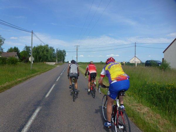 Mercredi 31 mai - Sortie Club - 83 km