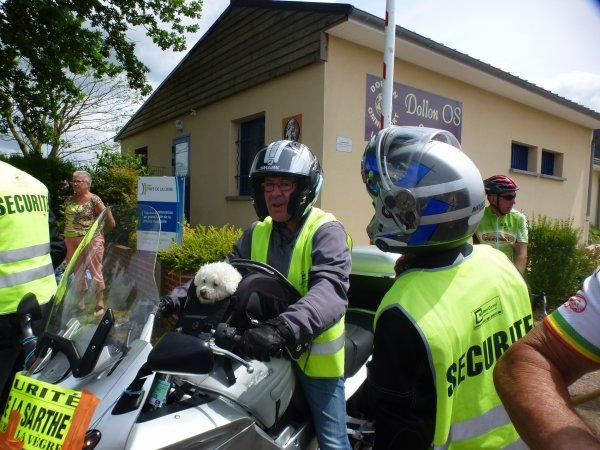Dimanche 4 juin - Tour de la Sarthe - Deuxième étape