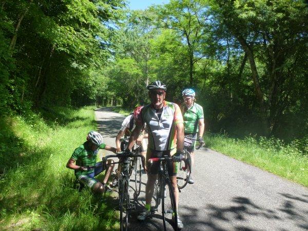 Samedi 10 juin - Randonnée des 7 écluses - 180 km de vélo