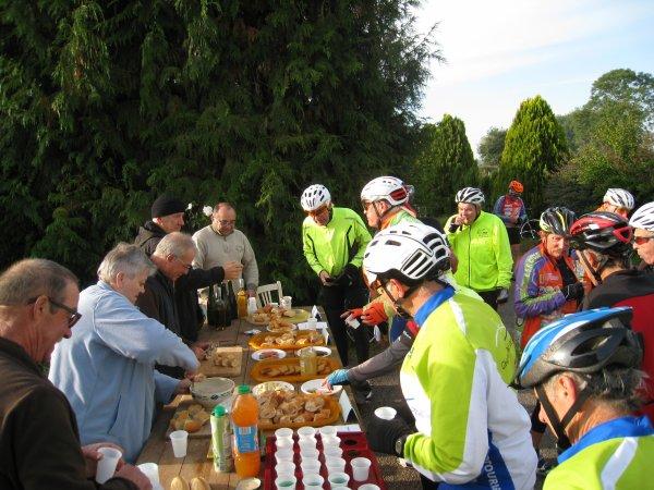 Dimanche 24 septembre - Charmoy - 14ème Rallye de la Pomme - 97 km