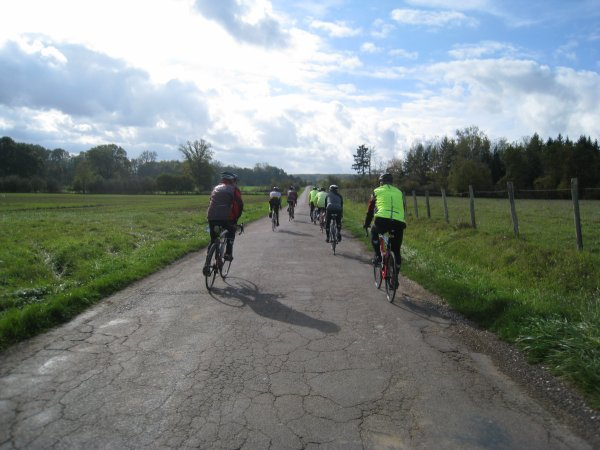 Samedi 28 octobre - Sortie Club - 70 km