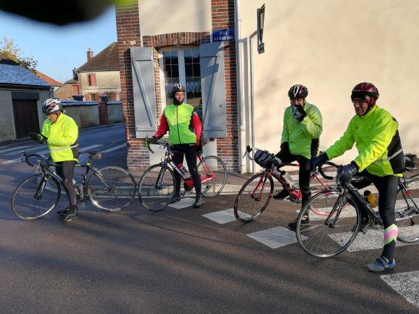 Samedi 2 décembre - Sortie Club - 61 km