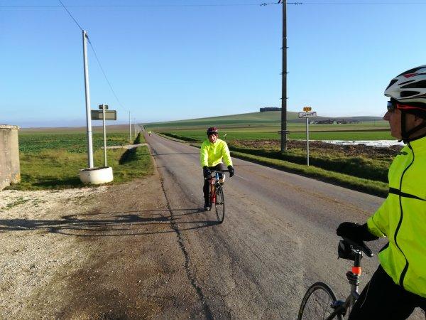 Mercredi 6 décembre - Sortie Club - 60 km