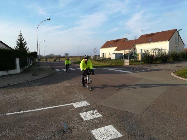 Samedi 13 janvier - 54 km de vélo... puis dégustation de la galette des rois !
