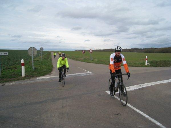 Mercredi 24 janvier - Sortie Club - 63 km