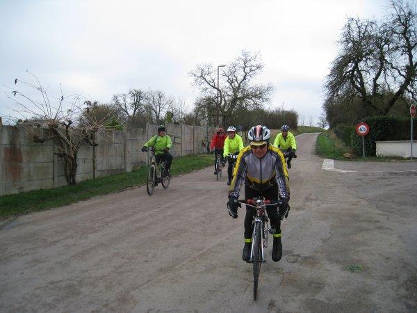 Samedi 27 janvier - Sortie Club - 53 km