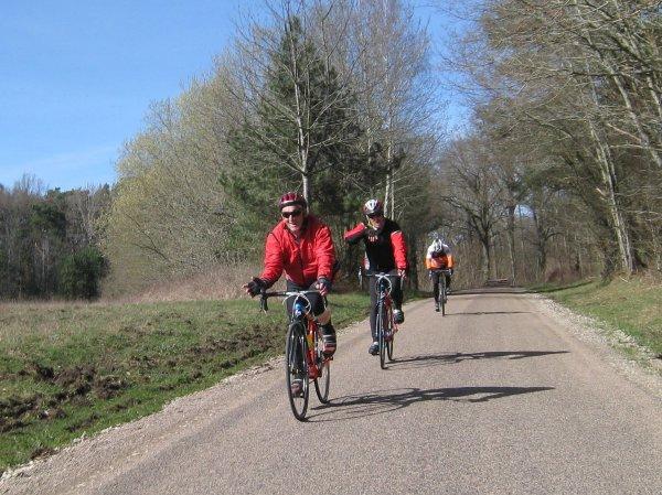 Mercredi 14 mars - Sortie Club - 85 km