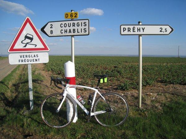Mercredi 21 mars - Sortie Club - 86 km (96 km pour moi !)