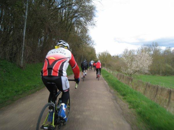 Samedi 31 mars - Sortie FFCT Avenir de St Georges - 84 km