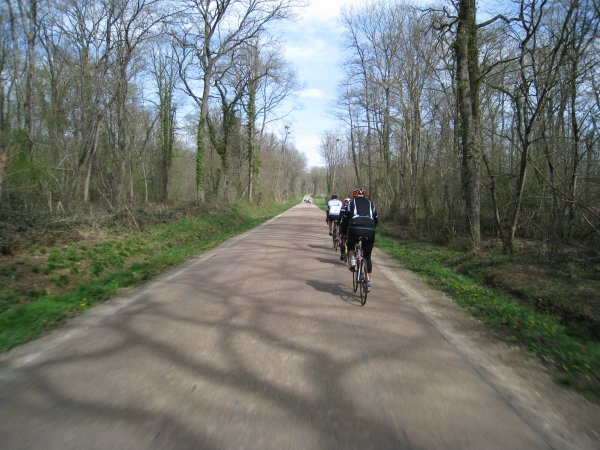 Samedi 7 avril - Sortie Ufolep Stade Auxerrois - 87 km