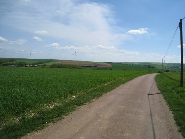 Mercredi 2 mai - 75 km en solo !